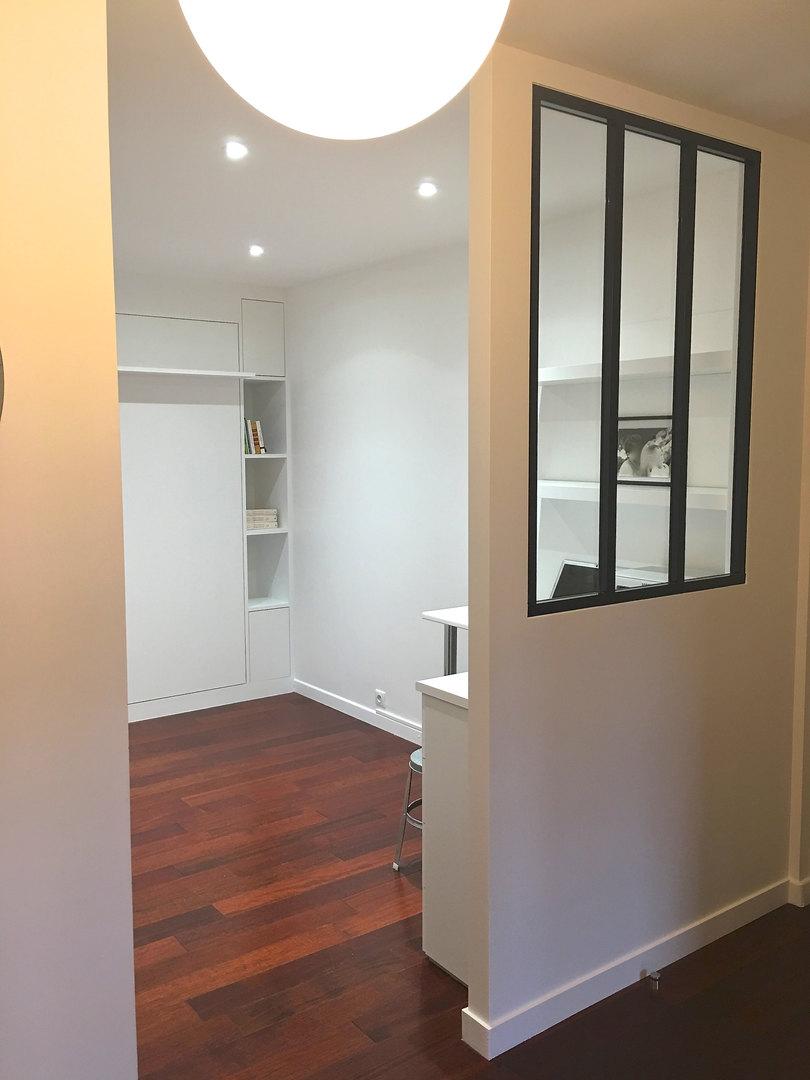 Nouvelle entrée / bureau et chambre d'amis