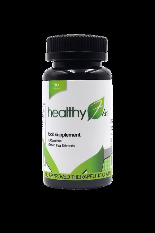 HealthyFix L Carnitine+Green Tea (30 caps)