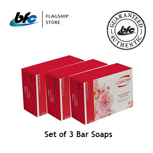 Cosmo Skin Collagen Soap x 3 Bars