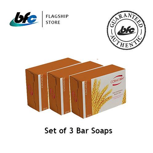 Cosmo Skin Oatmeal Soap x 3 Bars