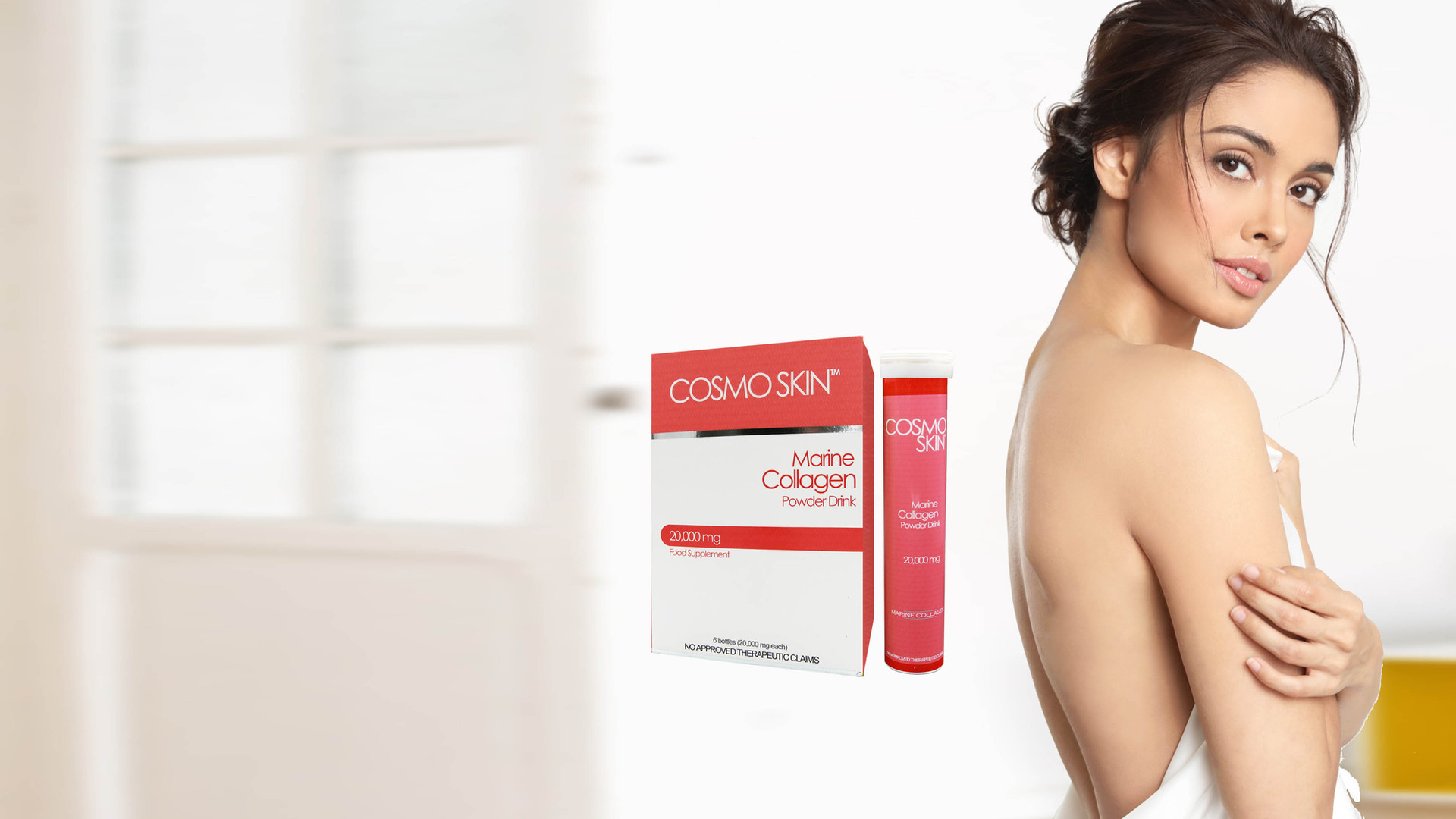 Megan Young for CosmoSkin
