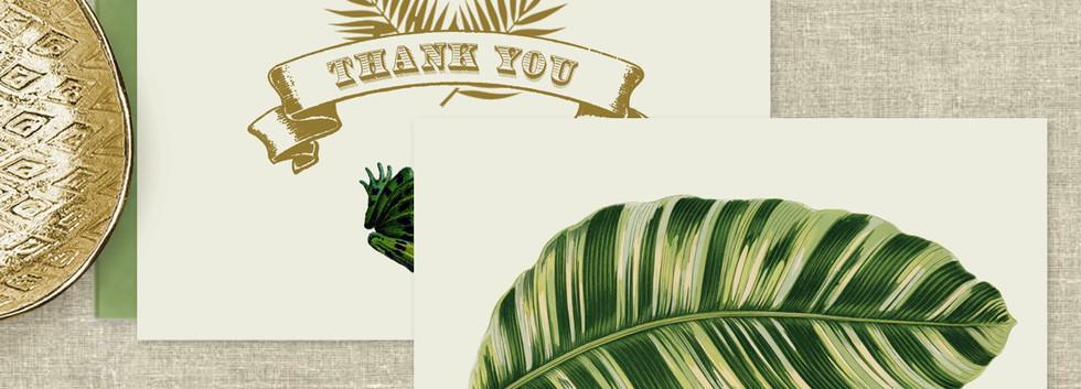 Paradise Thank You Card