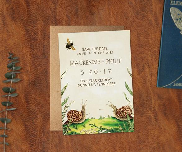 Entomology Save the Date Custom