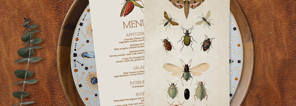 Entomology Menu