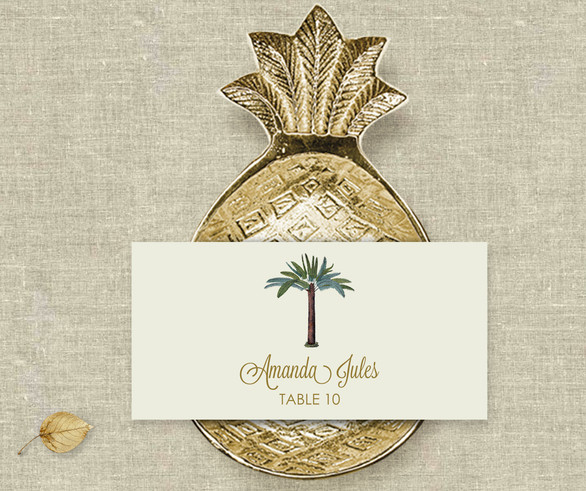 Paradise Place Card