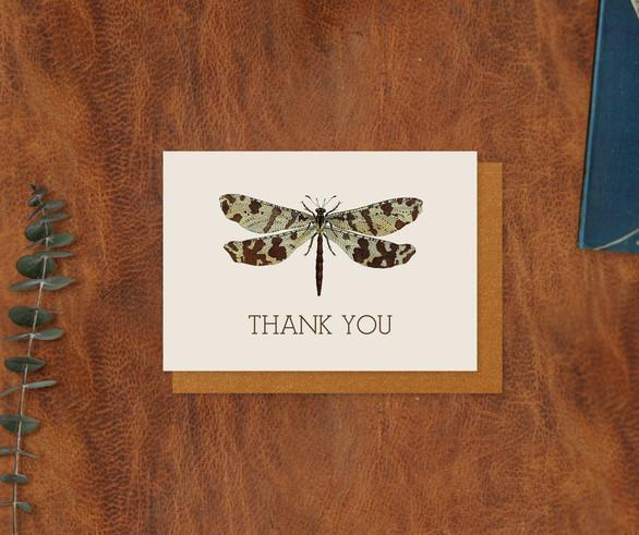 Entomology Thank You Card