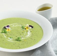 Green delicious (Peas Soup)