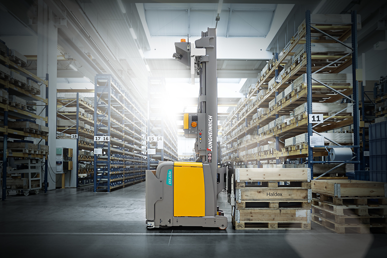 Jungheinrich automated vertical order picker
