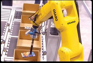 Robot picking item