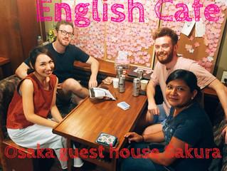 今週末です♥English Cafe @ Osaka guest house Sakura