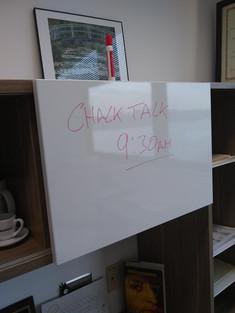 First Chalk Talk
