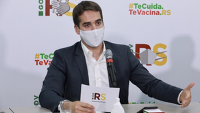 Rio Grande do Sul: Eduardo Leite, disse que a onda atual de infecção Coronavírus é gigantesca...!!!