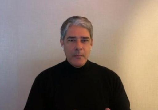 Conversa com Bial: Bonner, ao vivo,  se emociona e desabafa sobre ameaças bolsonaristas