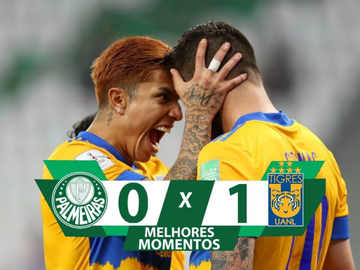 Mundial de Clubes: Acabou o sonho, Palmeiras perde para Tigres e dá adeus ao Mundial