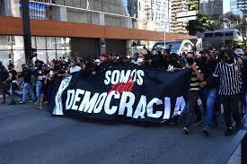 Fiel Torcida, Ato pro Democracia e confronto com Bolsonaristas  acaba com intervenção da PM