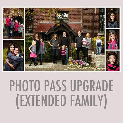 Family Pass Upgrade