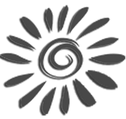 Sun black and white icon.png