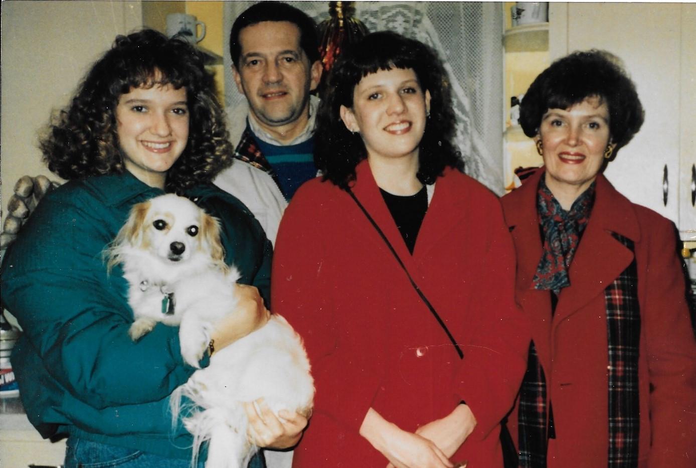 Michelle, Bruce, Deb Nancy 1989.jpg