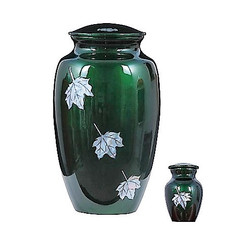 Maple Leaves Green - $210