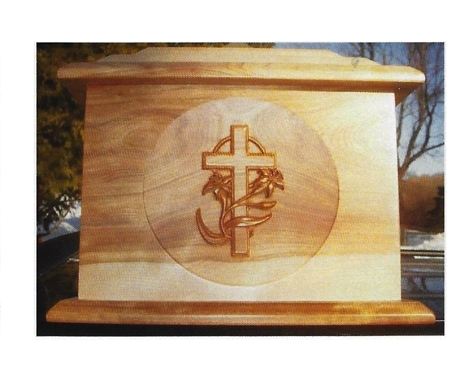 Amish Carved Cross - $280