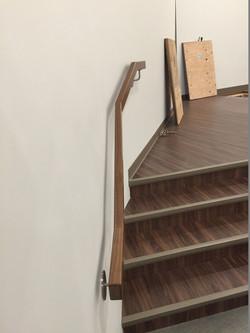 Walnut Handrail