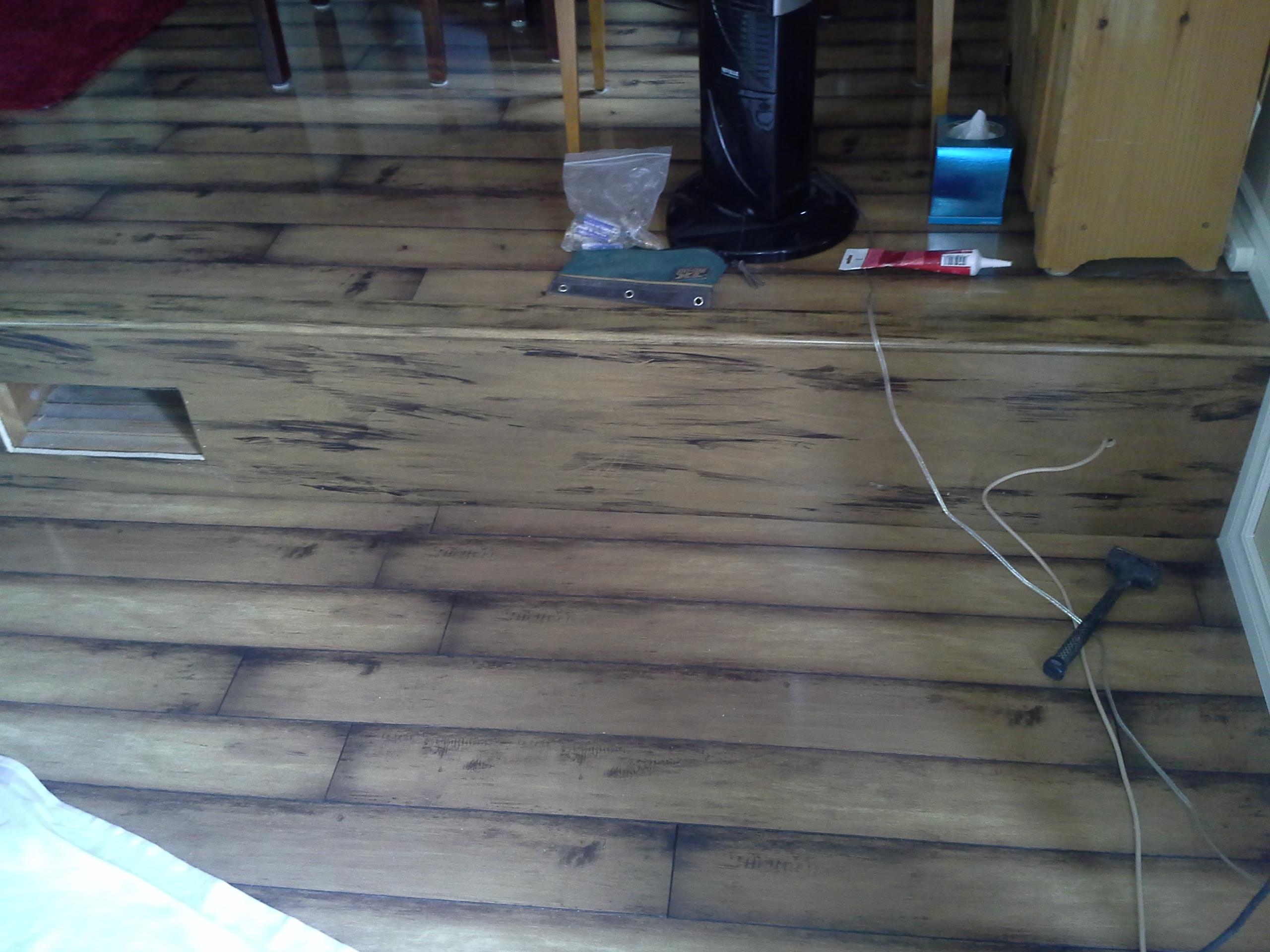 Riser's to match laminate flooring