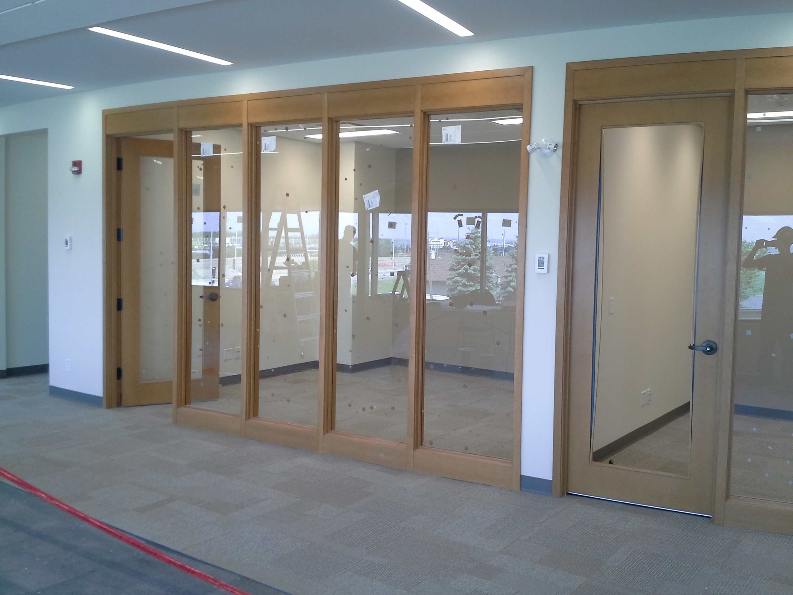Doors and Curved Frames