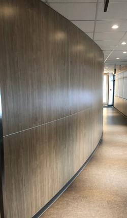 Plastic Laminate Curved Panels