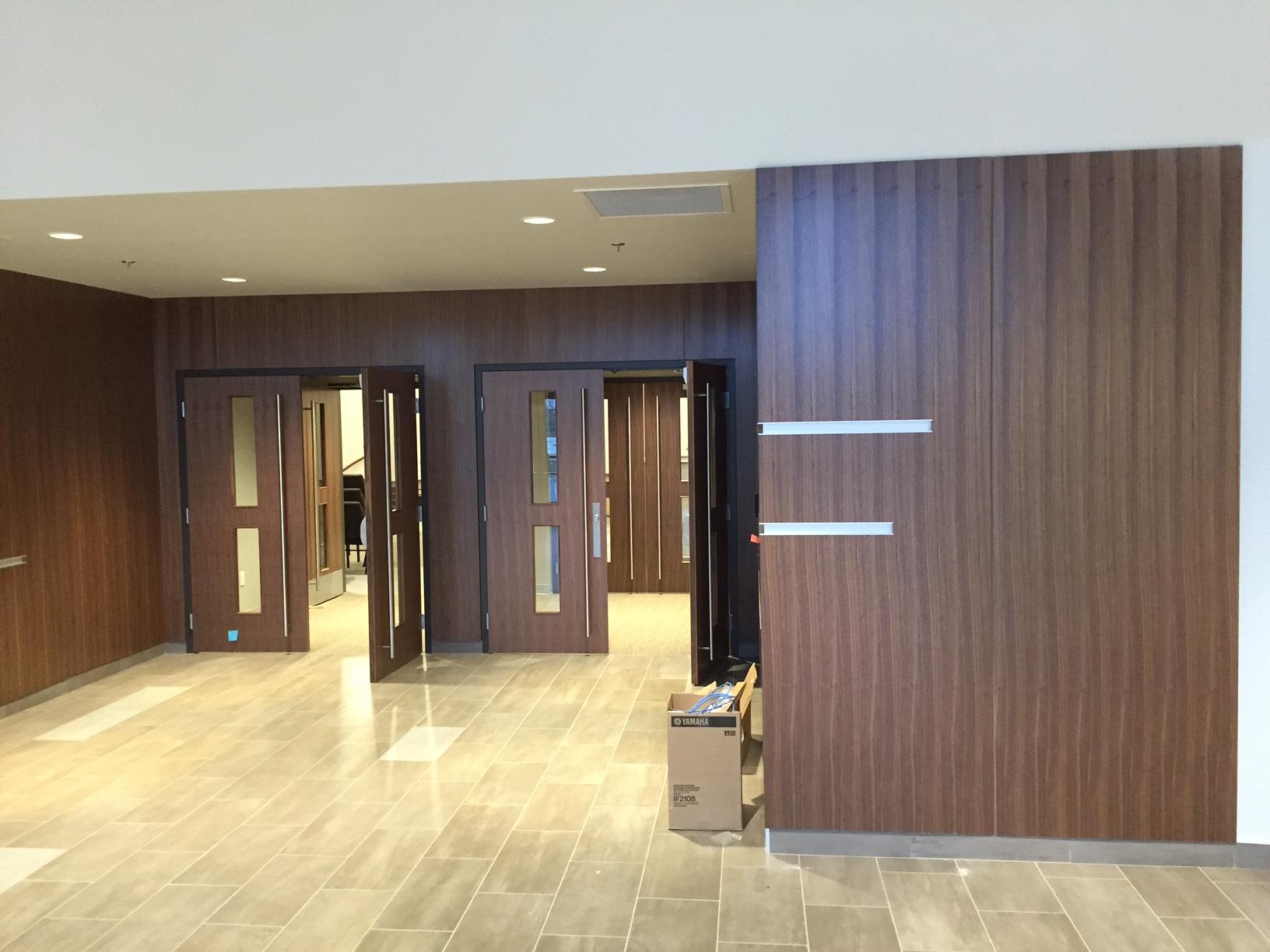 Quarter Cut Walnut Wall Panels