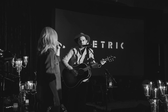 GLOBAL CITIZEN: AN INTIMATE CONCERT FEATURING METRIC