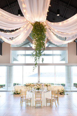 Event lighting and draping