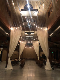 Draping and Lighting for Events