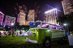 VW bus bayfront promo