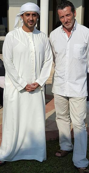 teaching the princess of Dubai