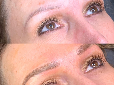 Cover Up Old Eyebrow Tattoos with Microblading
