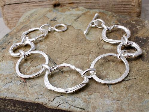 Irregular Link Bracelet