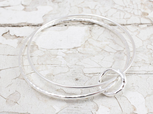 Handmade Silver Bangle Cornwall
