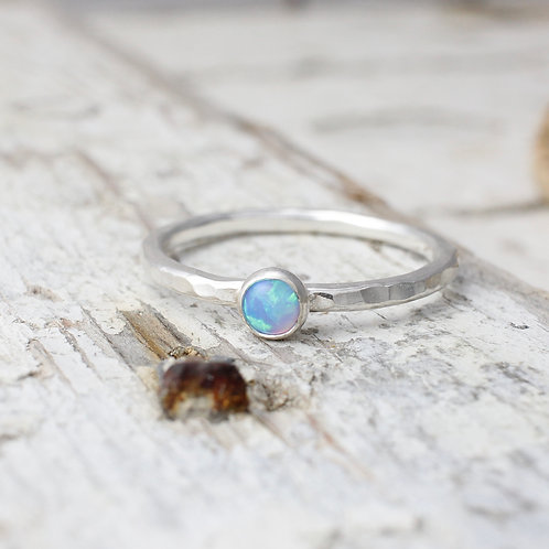 Opal Stacking Ring