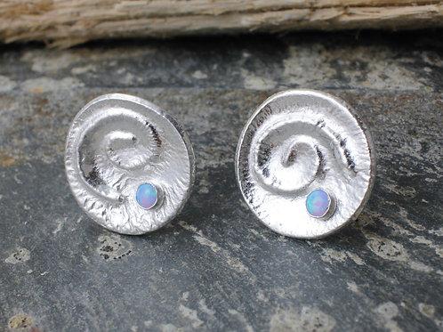 Opal Earrings Cornwall