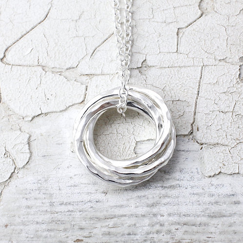 Four Circles Necklace