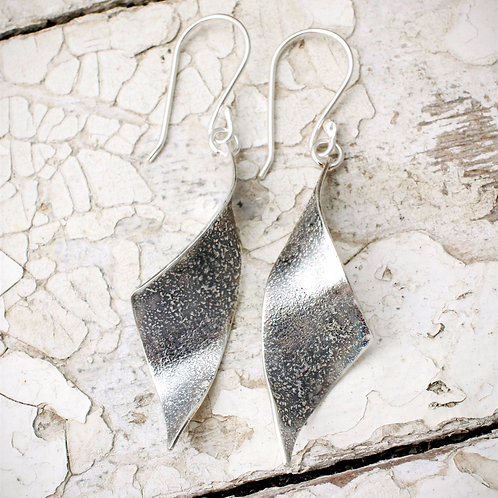 Oxidised Tempest Earrings
