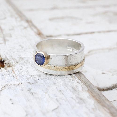 Handmade Sapphire Ring