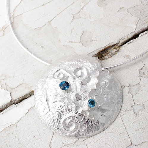 Handmade Topaz Necklace
