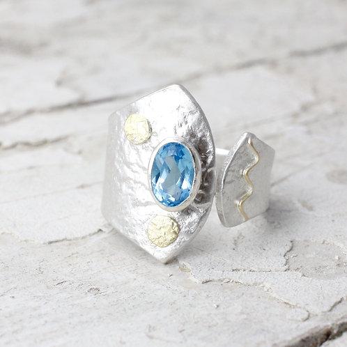 Handmade Topaz Ring