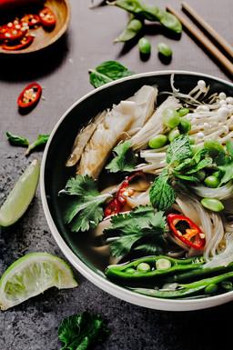 Rice Noodles Soup