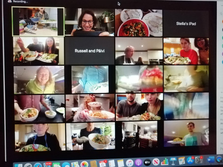 Why you should host a (virtual) team-building cooking class