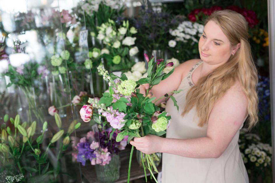 Viktoria på Melody Flowers