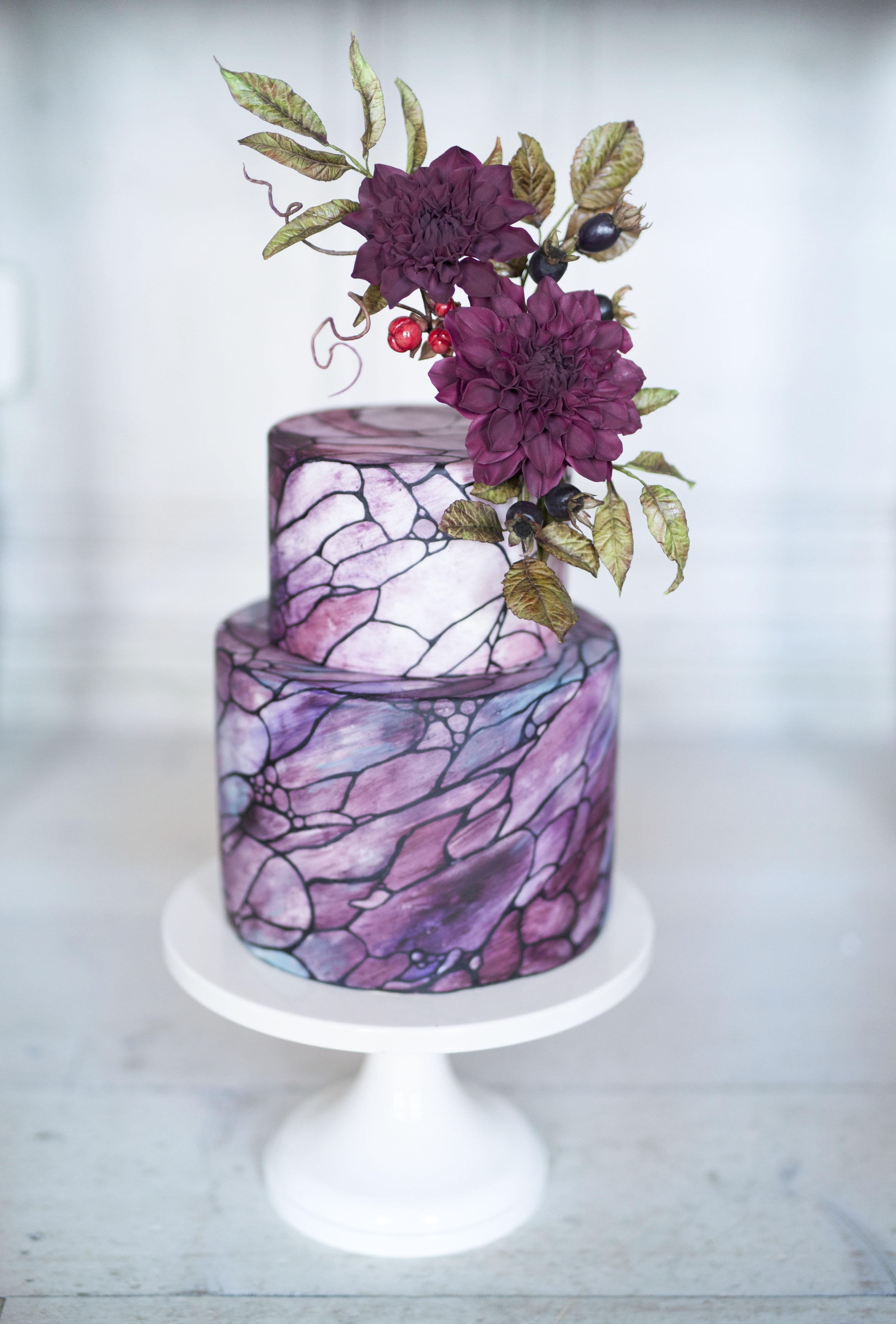 Liv Sandberg cake Art