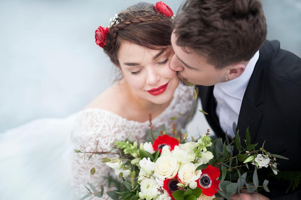 bohemiskt vinterbröllop