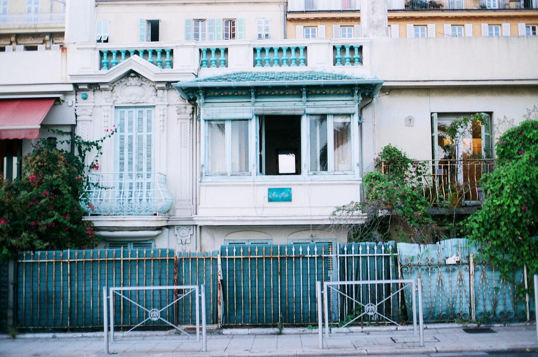 Nice, Frankrike Analog fotografering